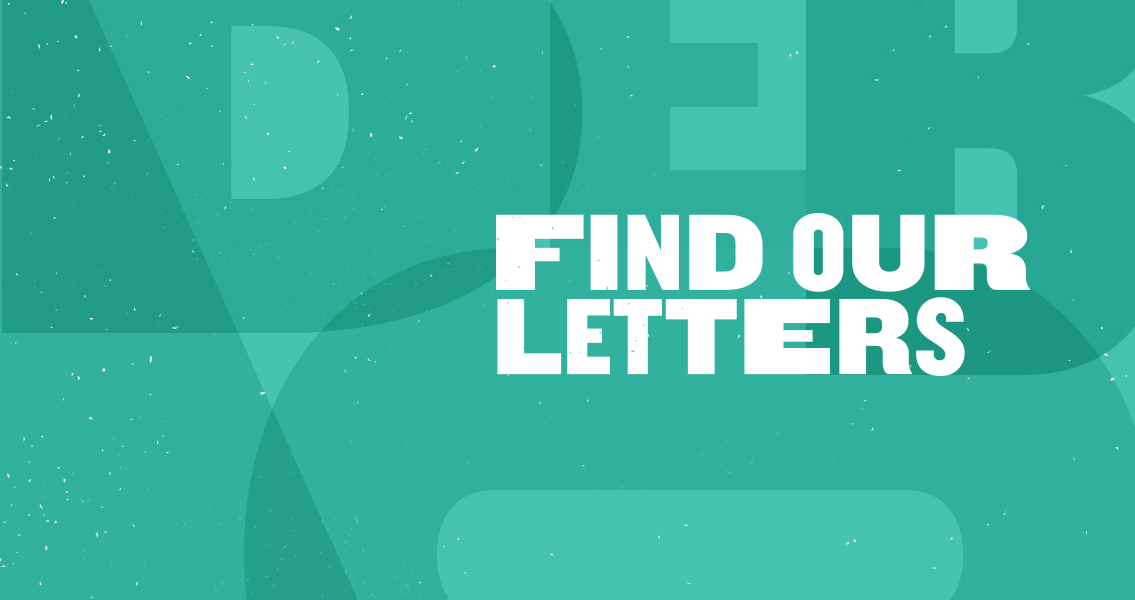 Find our Letter Bunbury Geographe